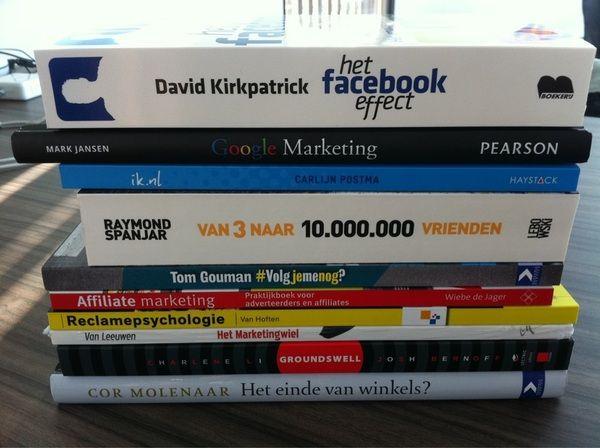 #RTfun: maak kans op deze bundel Online Marketing boeken