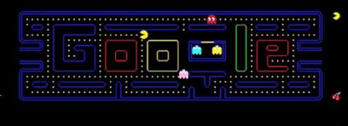 Ruim 4.8 miljoen productieve uren verloren aan Google Pac Man
