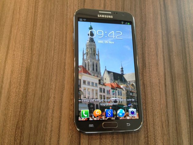 Samsung Galaxy Note II al vijf miljoen keer verkocht