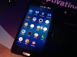 Samsung lanceert eerste Tizen smartphone