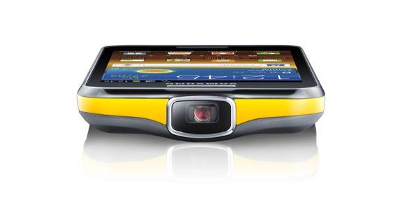 Samsung lanceert GALAXY Beam een smartphone met projector