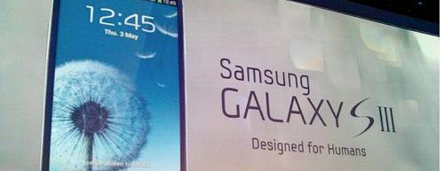 Samsung lanceert Galaxy S3