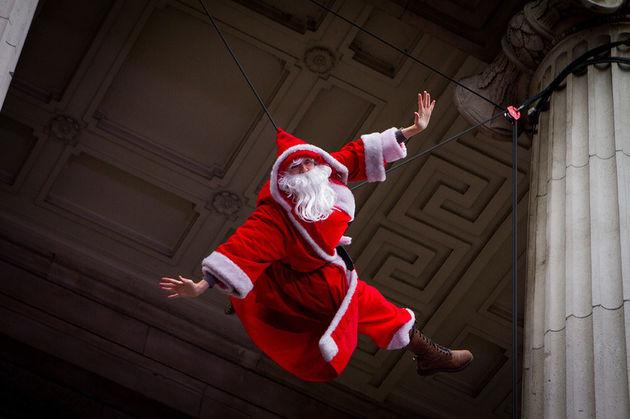 Santa-badass