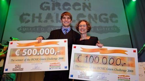'Schimmelplaten' winnaar in PICNIC Green Challenge
