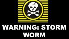 Schrijvers storm worm-virus bekend