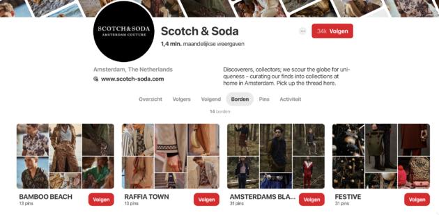 Scotch & Soda Pinterest
