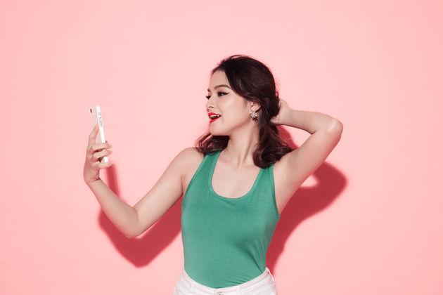 selfie-nemen