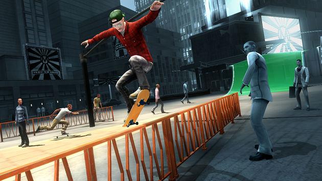 Shaun White Skateboarding is een achtbaan op vier wielen