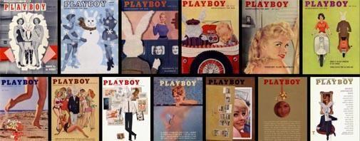 Silverlight laat Playboy edities zien