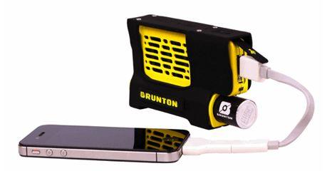 Smartphone opladen met Hydrogen Reactor van Brunton
