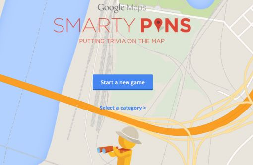 Smarty-pins-google