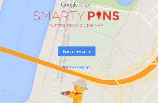 Smarty-pins-google