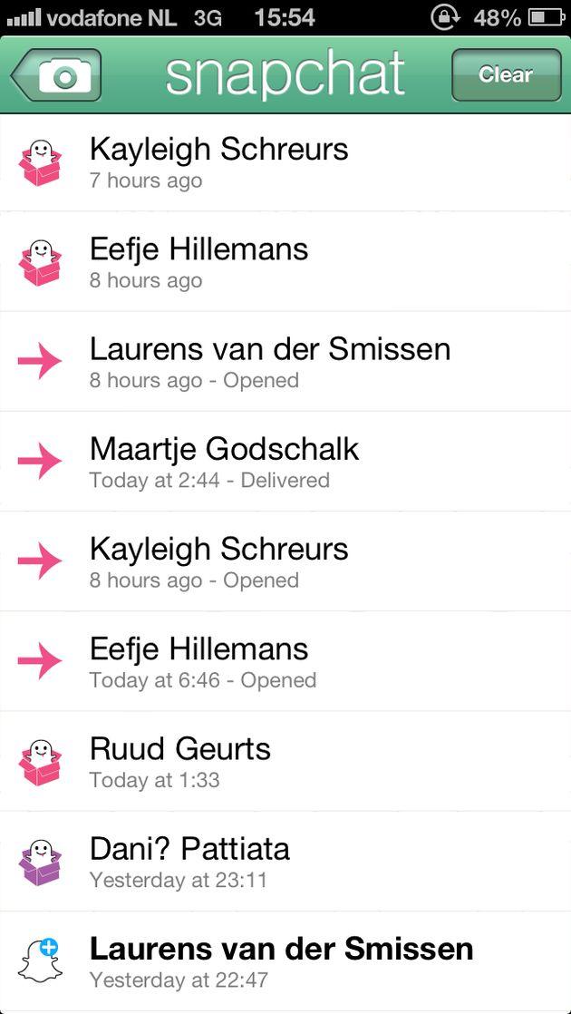 Snapchat-gebruikers versturen ongeveer 150 miljoen afbeeldingen per dag