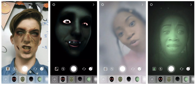 snapchat-halloween-filters