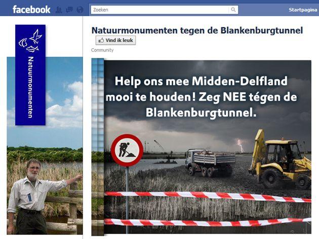 Social Media campagne tegen aanleg van de Blankenburgtunnel