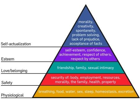 Social Media en de theory van Abraham Maslow [Infographic]