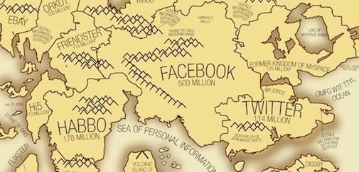 Social Media Network Map 2010 [INFOGRAPHIC]