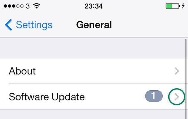 Software-Update-Settings