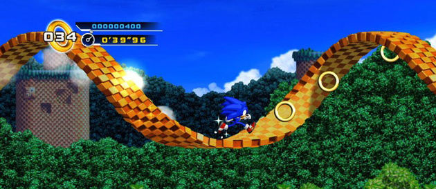Sonic 4: episode 1 is door de tijd gereisd