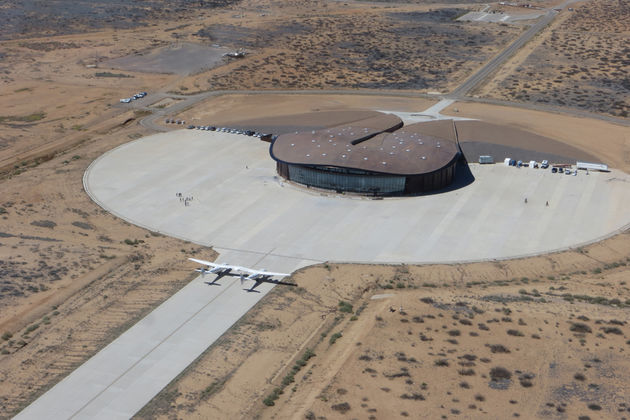 Spaceport America Virgin Galactic