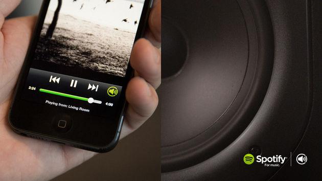 Spotify Connect, weer een andere manier om thuis muziek af te spelen