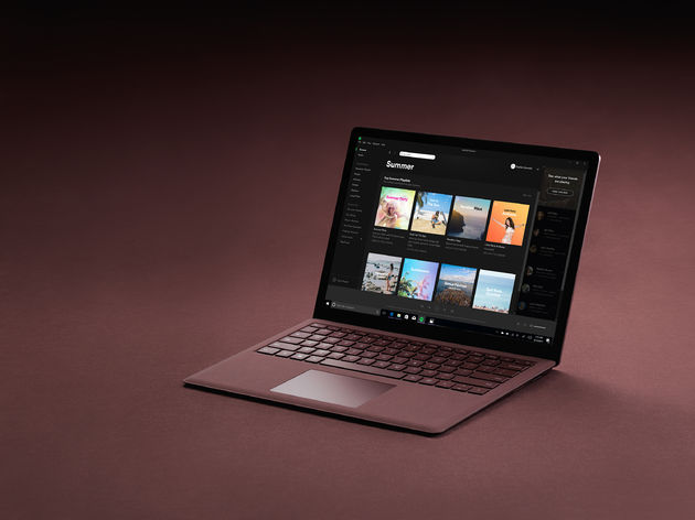 Spotify-MS-Surface