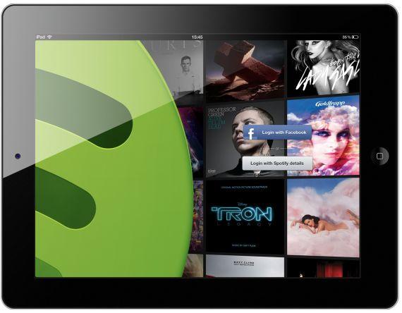Spotify: Op dag van concert worden nummers bijna twee keer zo veel beluisterd