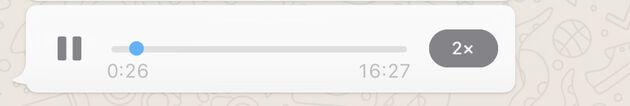 Spraakberichten WhatsApp