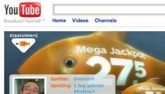 Staatsloterij neemt YouTube over