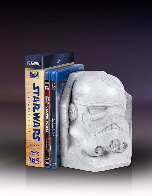 star_wars_darth_vader_stormtrooper_faux_marble_bookend_4
