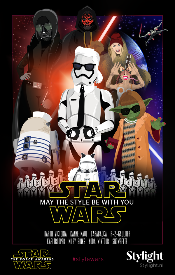 Star-Wars-May-The-Style-Be-With-You-filmposter-Stylight