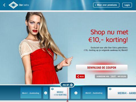 Ster lanceert een interactieve reclame-app