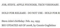 Steve Jobs is niet dood
