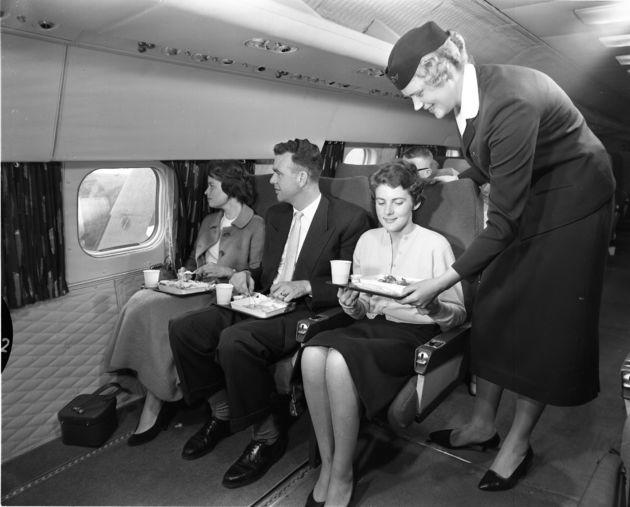 Stewardess KLM