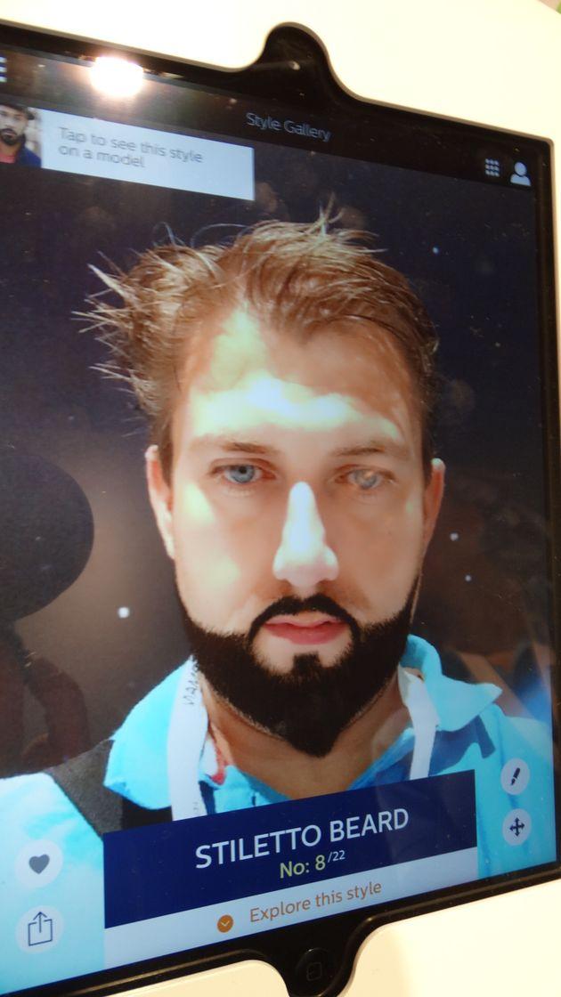 stiletto-beard