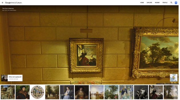 Street View - The Frick Collection