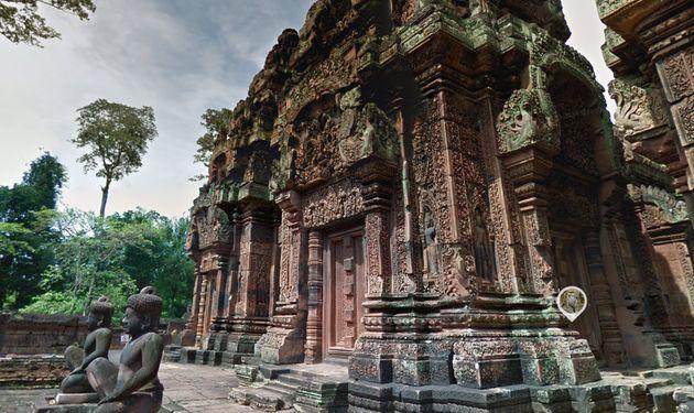 Streetview update: verken de tempels van Angkor, Cambodja
