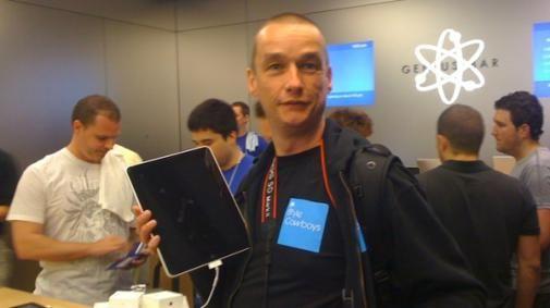 StyleCowboys heeft eerste iPad [Primeur]