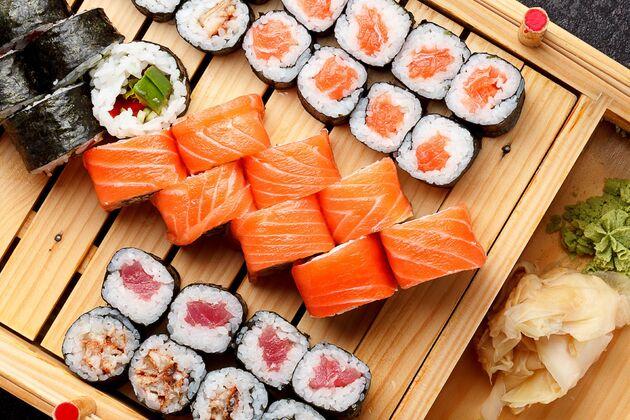Sushi op je vlucht