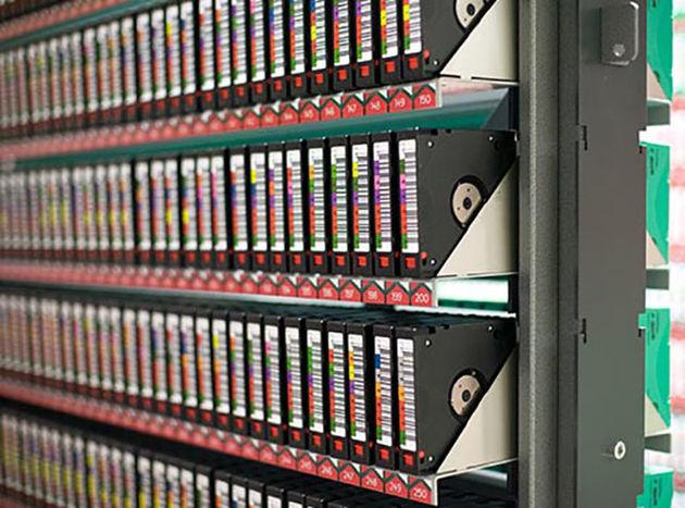 De veiligste plek voor backups is op tape in een Nederlandse bunker