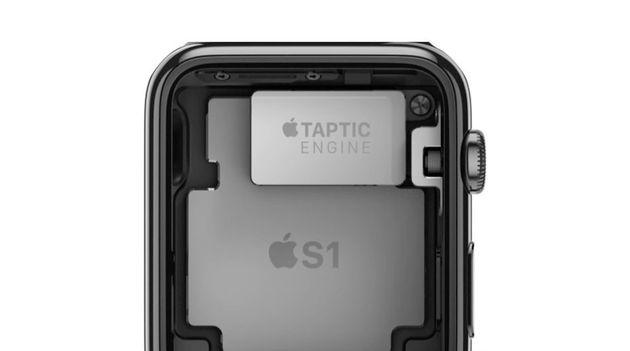 taptic apple watch