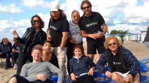 Team Dutchcowboys niet in de prijzen tijdens jaarlijke Strandvolley.net