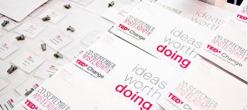 TEDxAmsterdam start 'Ideas worth doing'