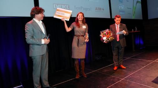 TenPages.com winnaar Accenture Innovation Awards 2010