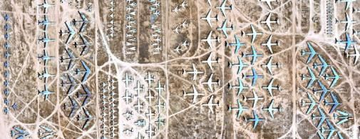 'The Boneyard' nu te zien met Google Earth