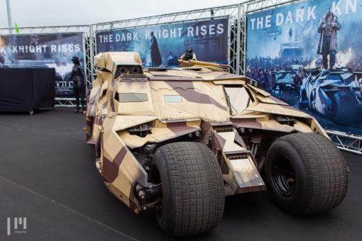 The Dark Knight rise op TT Assen