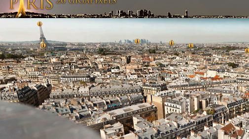The making of.. Paris in 26 Gigapixels