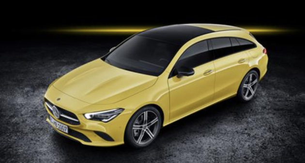 The new Mercedes-Benz CLA Shooting Brake