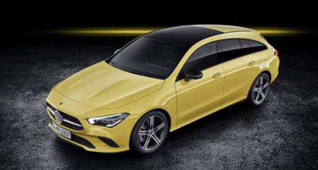 The new Mercedes-Benz CLA Shooting Brake