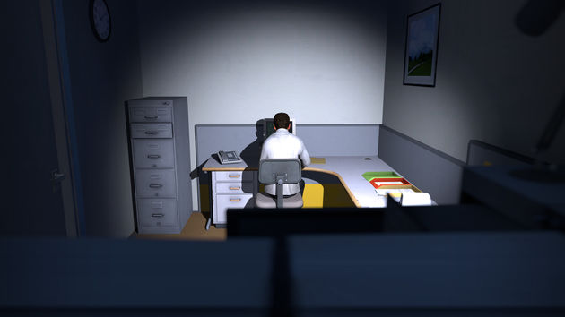 The Stanley Parable: Mis hem niet